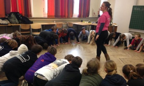 Englische Theater-Workshops in den 7. Klassen