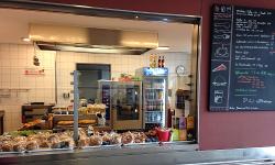 Eröffnung der neuen Cafeteria